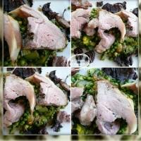 Épaule d'agneau aux légumes printaniers