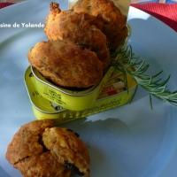 cookies thon-sardines à la tomate