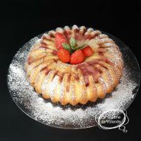 Cake au citron , Kirsch et aux framboises et fraises