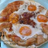 Tarte bohémienne aux œufs